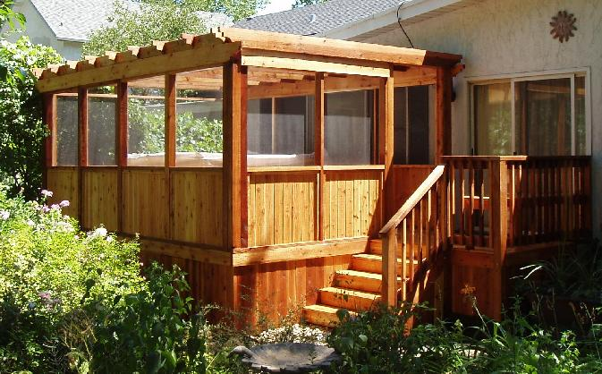 Image Result For Screened In Deck Designs