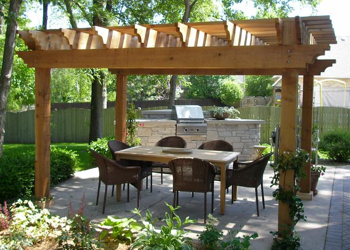 cedar pergola. Black Bedroom Furniture Sets. Home Design Ideas